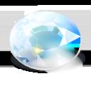 Run desktop app KDiamond online
