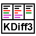 Run desktop app KDiff3 online