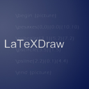 Run desktop app LaTeXDraw online