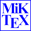 Run desktop app MiKTeX online
