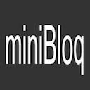 Run desktop app miniBloq online