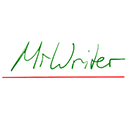 Run desktop app MrWriter online