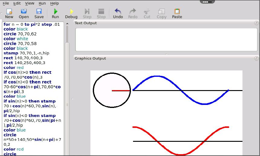 BASIC 256 Online - Computer Programming for Children – rollApp
