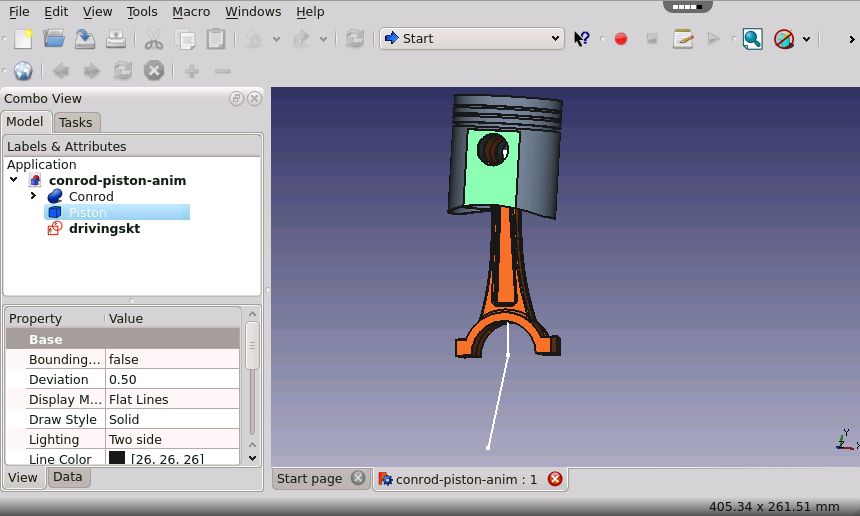 Freecad parametric modeling application 3d cad modeler for Simple 3d cad software free