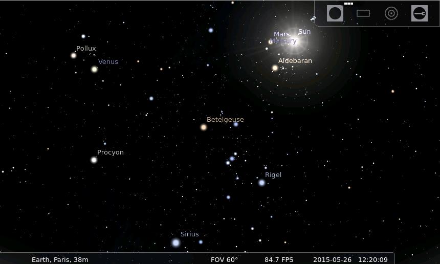 stellarium pour ipad